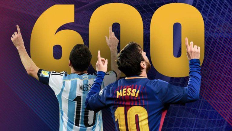 Това са всичките 600 гола на Меси! (видео)