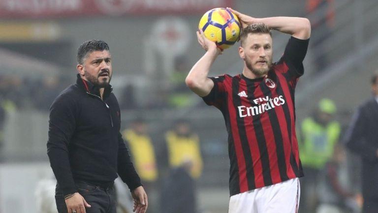 Проблеми в защита за Милан преди сблъсъка с Арсенал