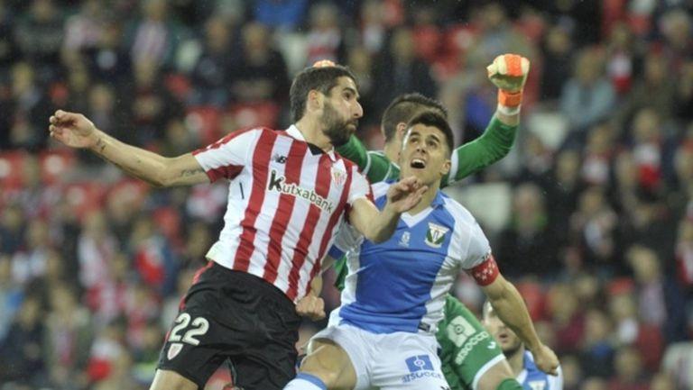 Раул Гарсия поведе Атлетик Билбао към успеха (видео)