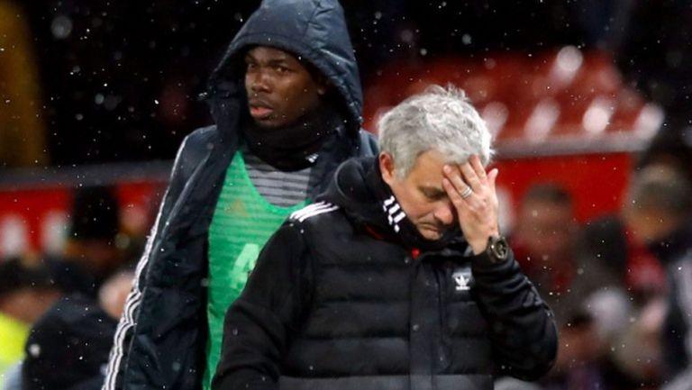 Моуриньо не останал очарован от изненадата на Погба