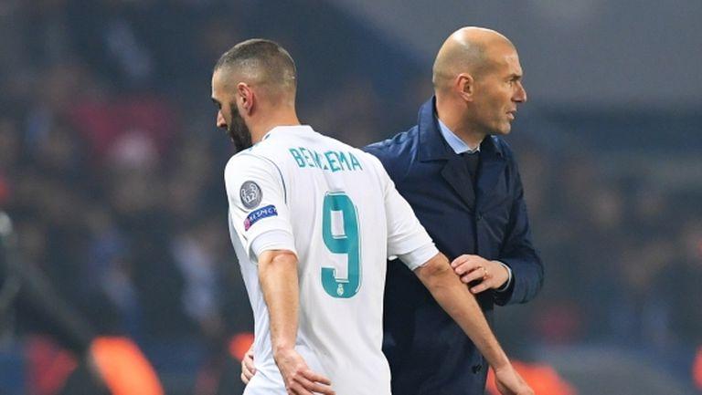 Кои са любимците на Зидан в Реал Мадрид?