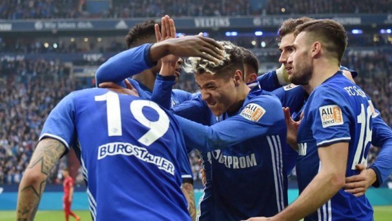 Шалке 04 лиши Мюнхен от парти тази вечер (видео)
