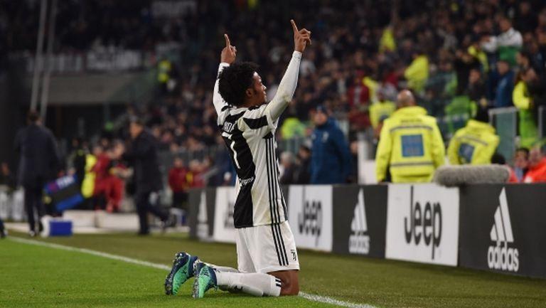 Хуан Куадрадо: Победата ни дава сили за мача с Реал Мадрид