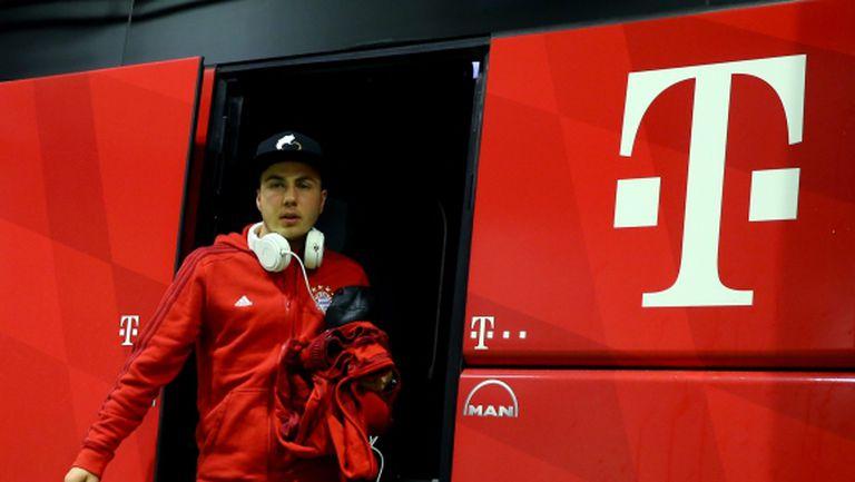 В Байерн са виновни за Марио Гьотце, жалват се от Дортмунд