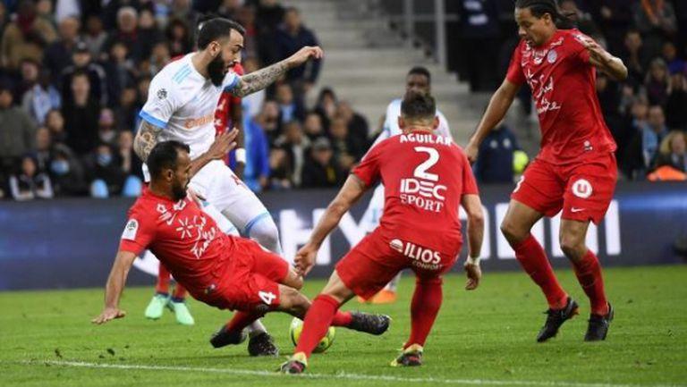 Олимпик Марсилия се смъкна четвърти в Лига 1