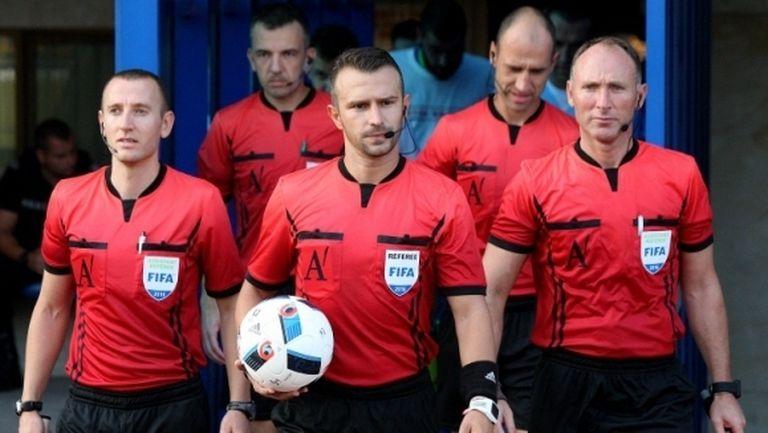 Стана ясно кой ще свири мачовете от 1/2-финалите за Купата на България