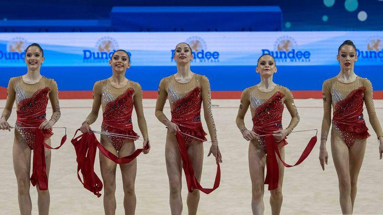 Три сребърни медала за България в първия ден на Европейското първенство по художествена гимнастика във Варна