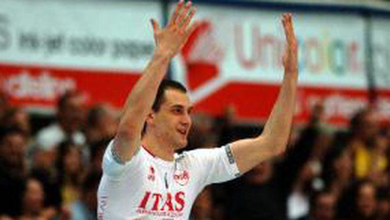 Блестящи Казийски и Николов, Тренто на победа от финал в Италия