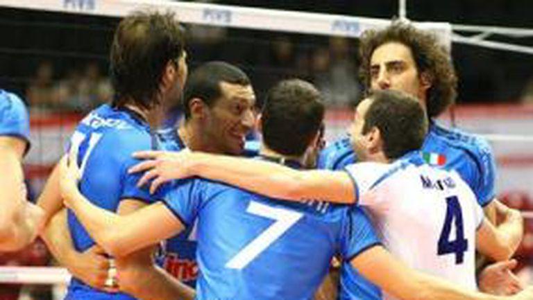 Италия на 2 победи от Пекин 2008, Златанов отново №1
