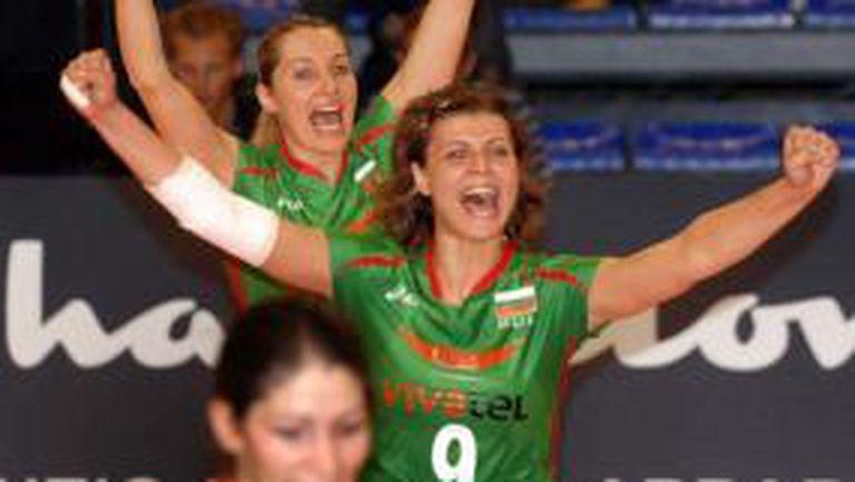 Любка Дебърлиева: Ние сме един щастлив отбор, трябва да работим върху себе си