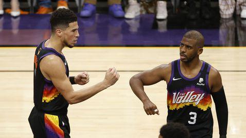 """Разяреният Янис не уплаши Финикс, """"слънцата"""" са на две победи от историческа титла в НБА"""