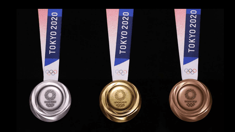 Медалите за Игрите в Токио 2020 са изработени от рециклирани електронни устройства