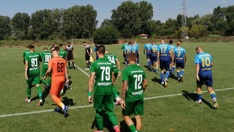Марица (Пловдив) отстъпи на дубъла на Лудогорец в мач с 6 гола