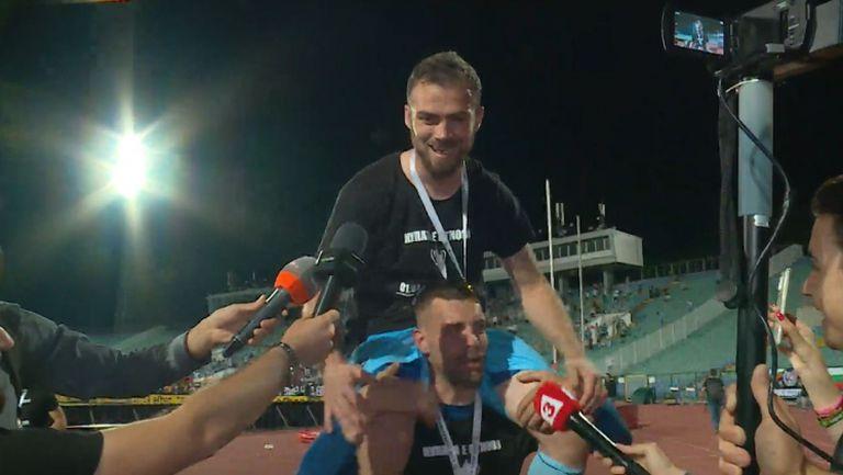 Героят Илко Пиргов: Благодарим на феновете