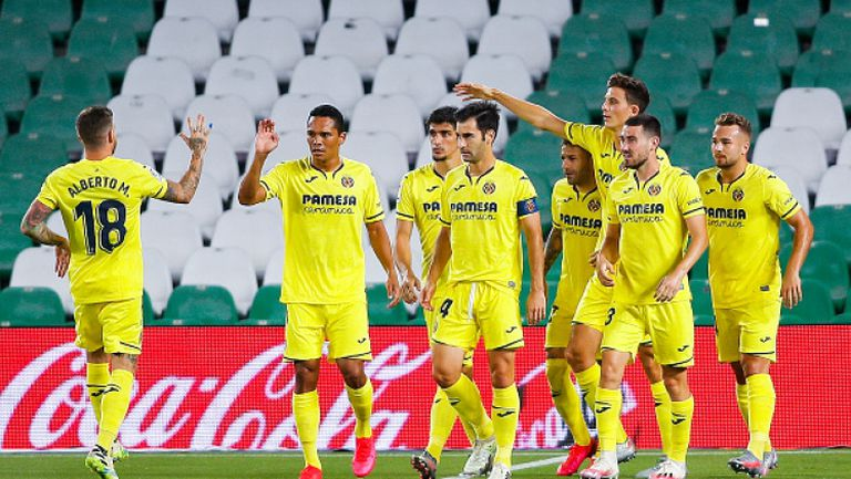 Реал Бетис - Виляреал 0:2