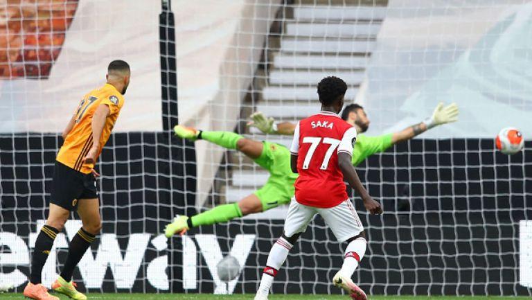 Уулвърхамптън - Арсенал 0:2