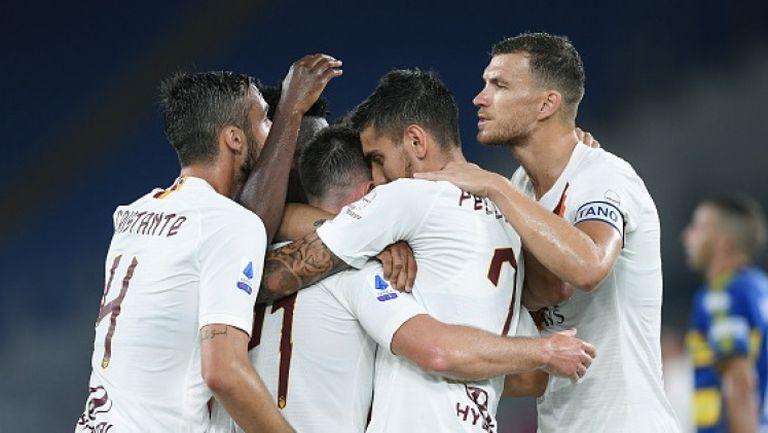 Рома с важна крачка към Лига Европа