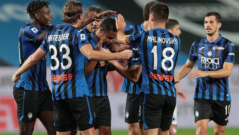 Аталанта се изкачи на третото място в Серия A