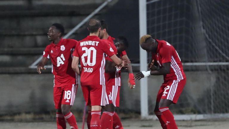 Али Соу даде преднина на ЦСКА-София срещу Локо Пд