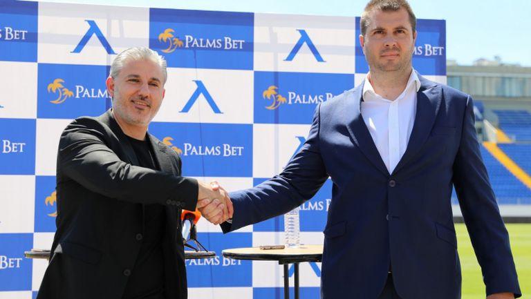 Изпълнителният директор на Левски Павел Колев с подробности за ново рекламно партньорство