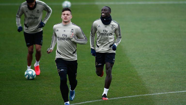 Йович поднови тренировки с Реал Мадрид