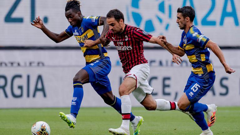 Милан - Парма 3:1