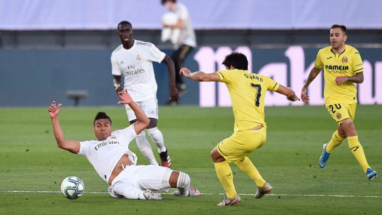 Реал Мадрид победи Виляреал с 2:1 и грабна титла №34