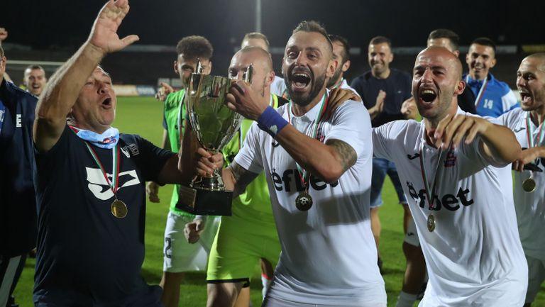 Монтана е новият член на efbet Лига след категорична победа над Дунав