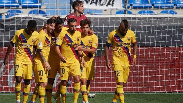 Алавес - Барселона 0:5