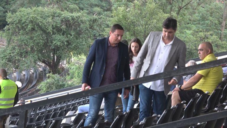 Караславов с Ботев на важния мач в София