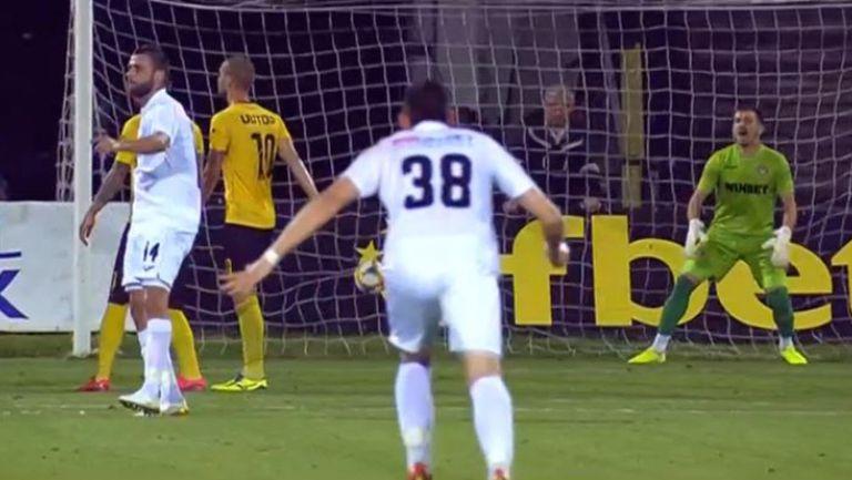 2:0 за Славия срещу Ботев след пряк свободен удар на Ивайло Димитров