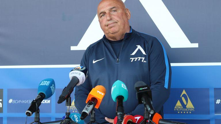 Георги Тодоров: На нито един от футболистите в Левски не е платено