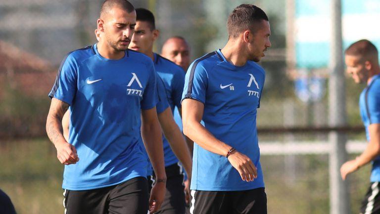 Георги Тодоров изведе Левски на първа официална тренировка за новия сезон