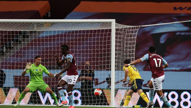 Астън Вила - Арсенал 1:0