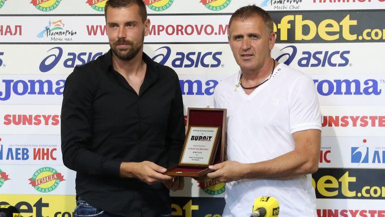 Акрапович: Имаме отбор, който играе красив и модерен футбол