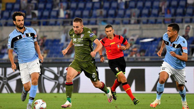 Лацио си осигури място в ШЛ след успех срещу Каляри