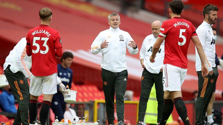 Мениджърът на Манчестър Юнайтед уверен преди мача с Лестър