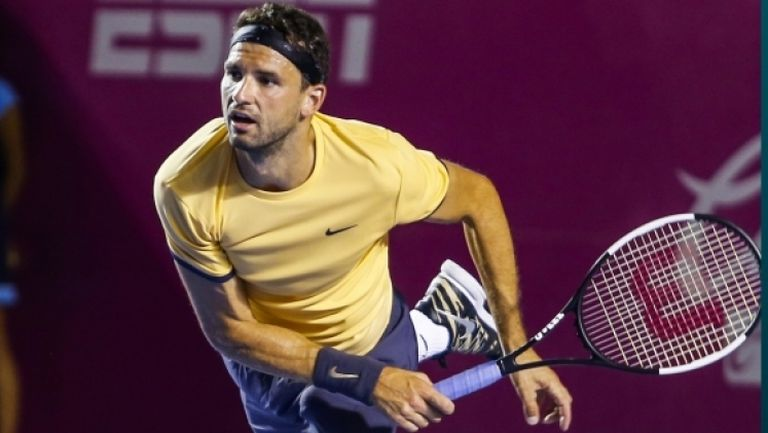 Григор се завърна на корта, но отстъпи на Гаске в странен тенис формат