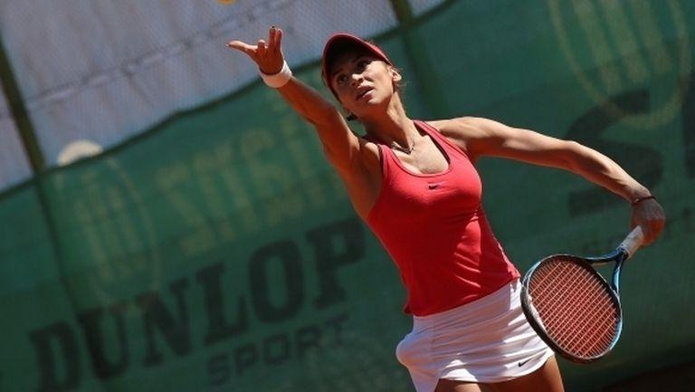 Ани Вангелова с тежка загуба на турнир в Белград