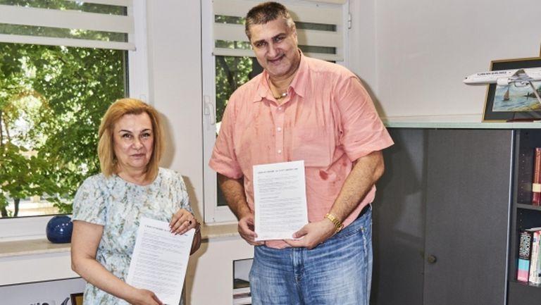 БФВ подписа споразумение с КК Албена за развитие и просперитет на плажния волейбол у нас