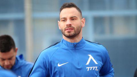 Левски излиза без Симеон Славчев срещу Славия