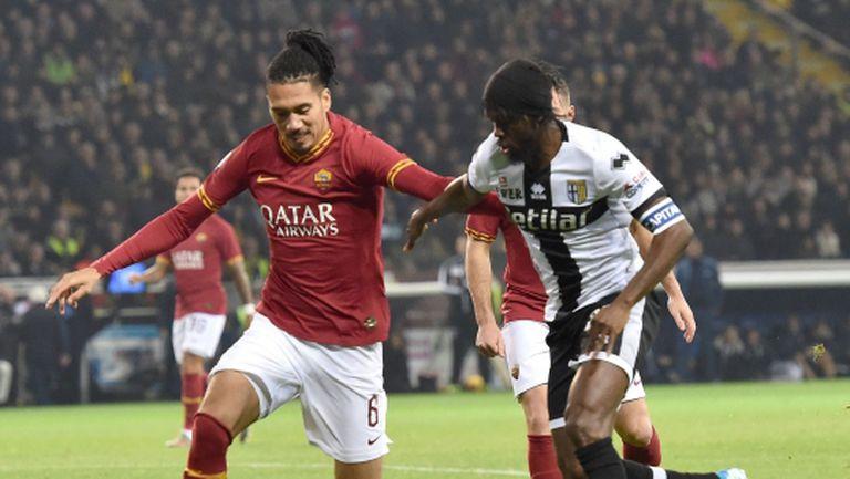 Рома с поредно предложение към Юнайтед за Смолинг