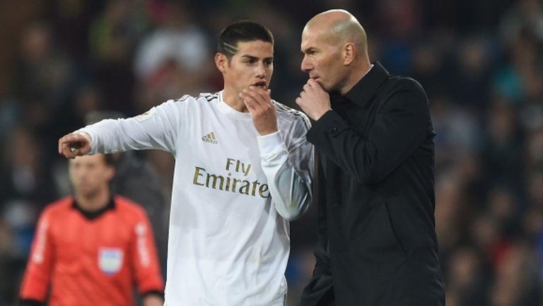 Хамес отново не поиска да бъде в групата на Реал Мадрид
