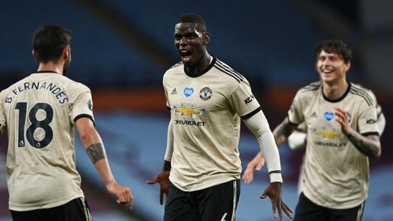Погба: Ман Юнайтед вече е истински отбор