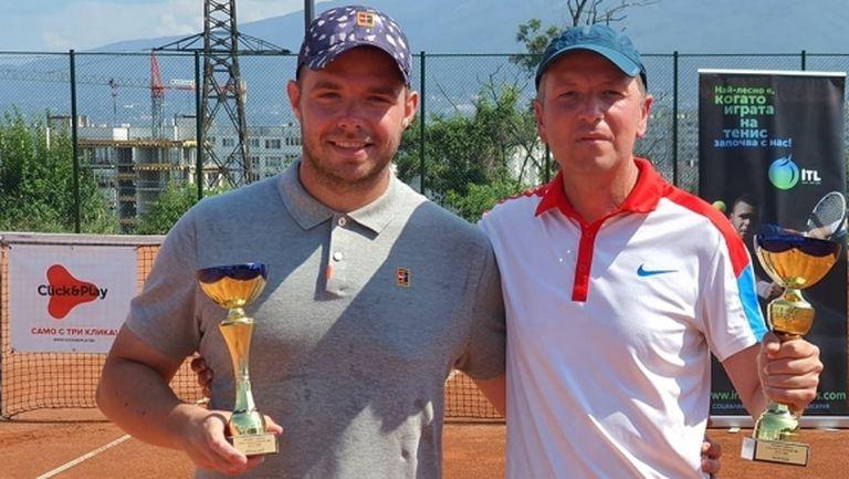 Ивайло Стоянов триумфира в четвъртия чалънджър на Интерактив тенис