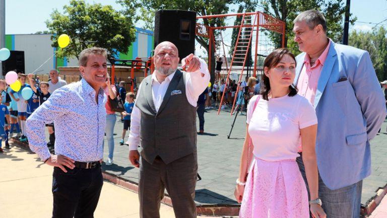 Министър Кралев откри спортен комплекс в Пазарджик