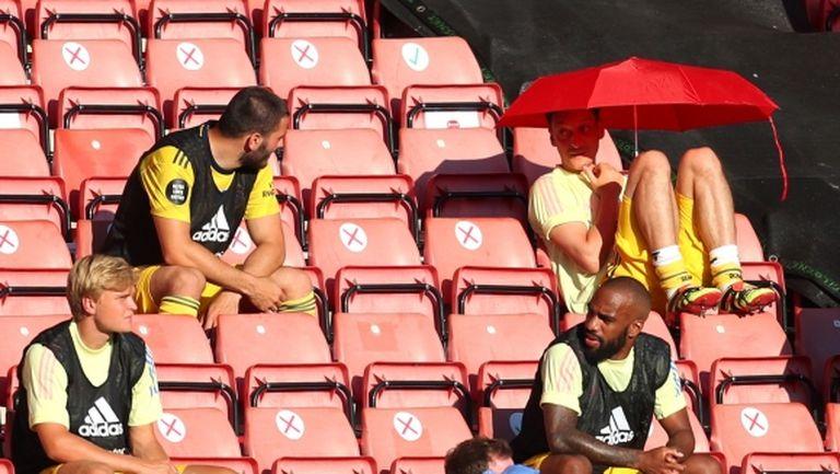 Артета: Не знам дали Йозил ще играе за Арсенал този сезон