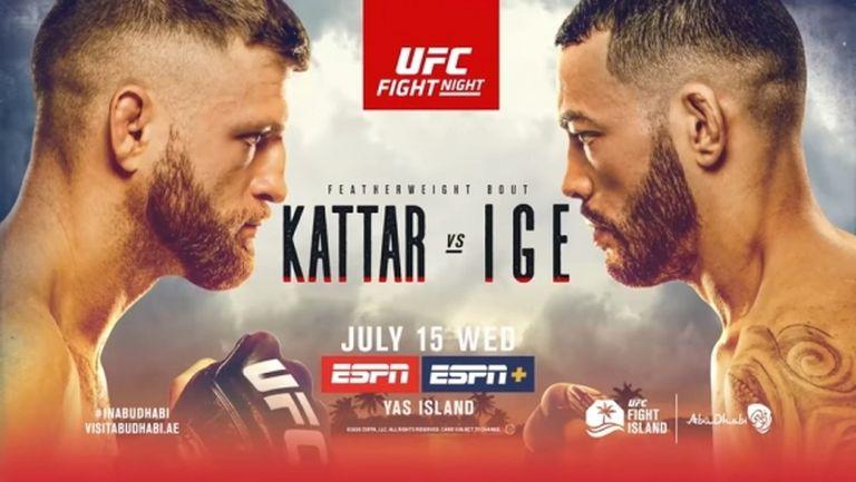 Резултати от галавечерта на UFC на бойния остров