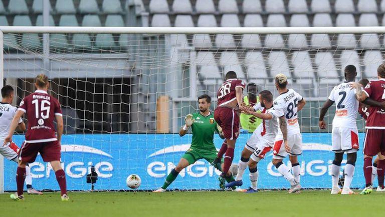 Торино вече диша по-спокойно след разгром над Дженоа (видео)