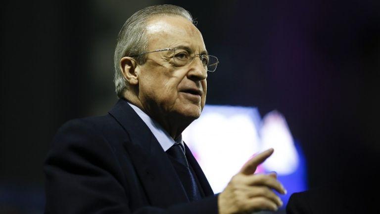 Реал Мадрид няма да прави големи трансфери, категоричен е Перес